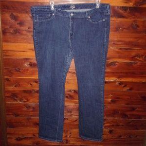 Levi's Slight Curve plus size jeans